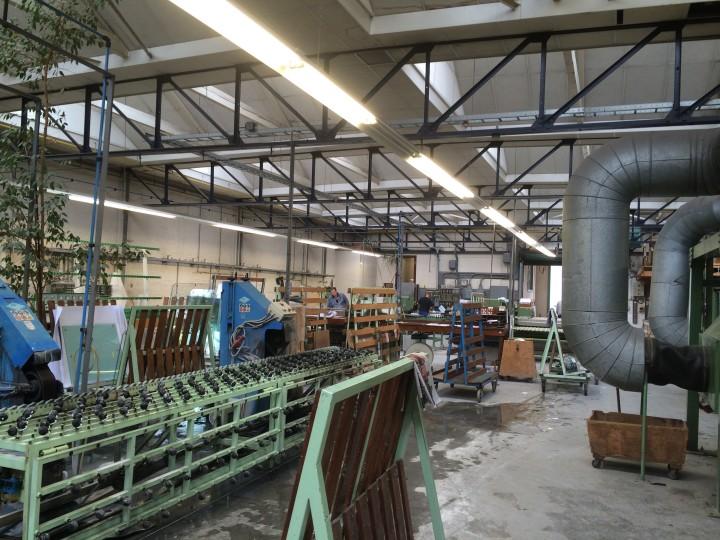 Glas werkplaats